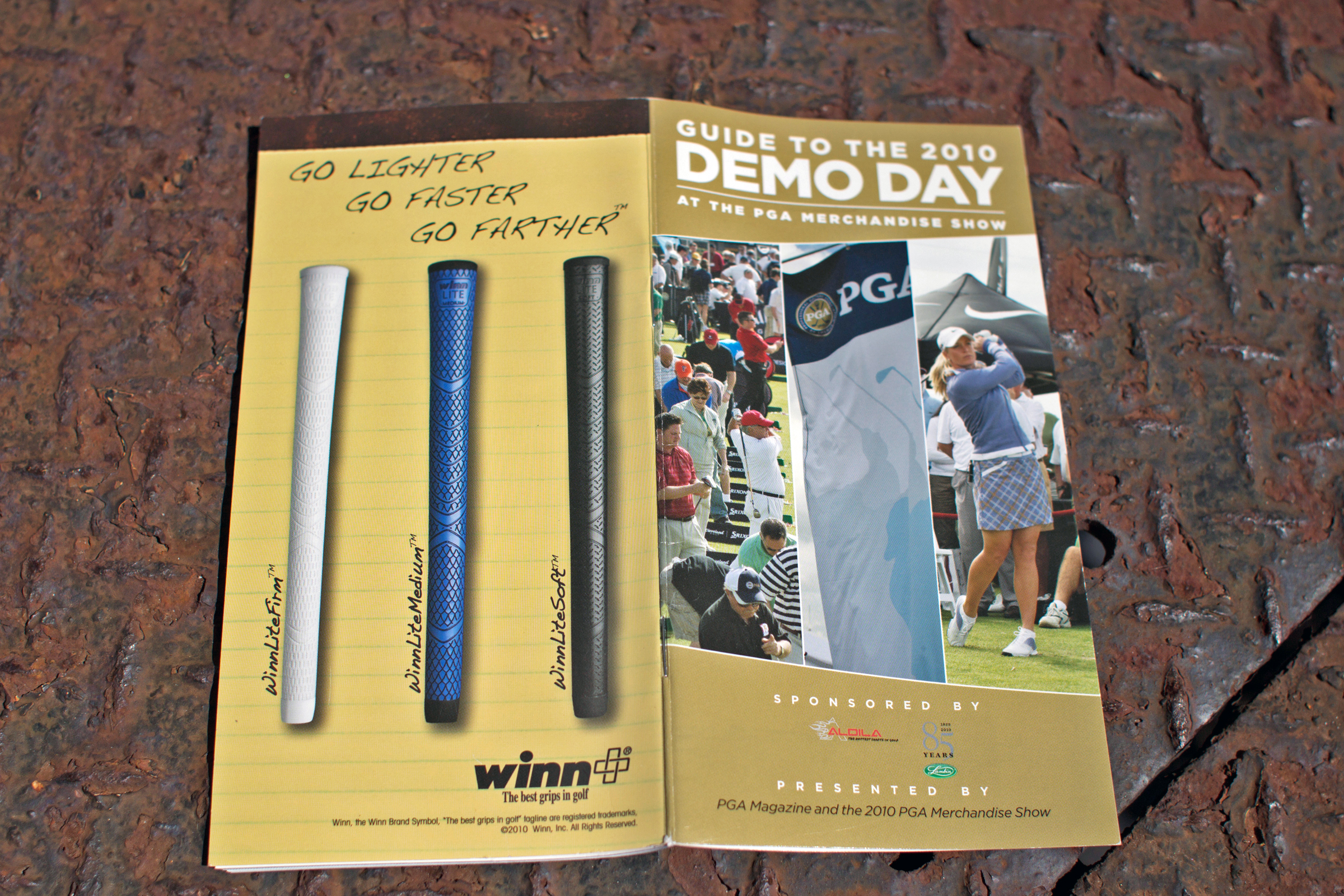 Guide to Demo Day by PGA Magazine, 2010 PGA Merchandise Show.