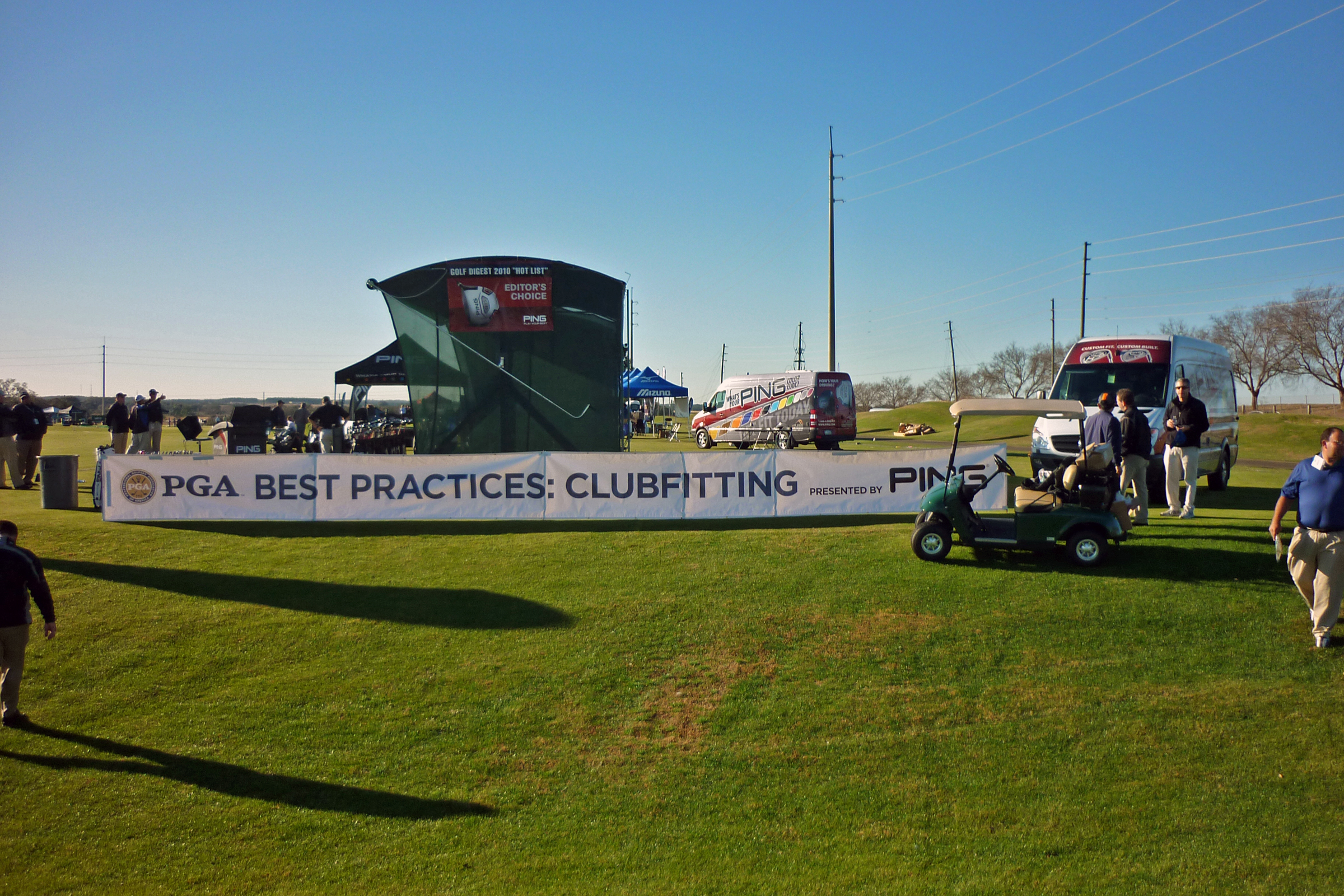 Demo Day at the PGA Merchandise Show, 2010.