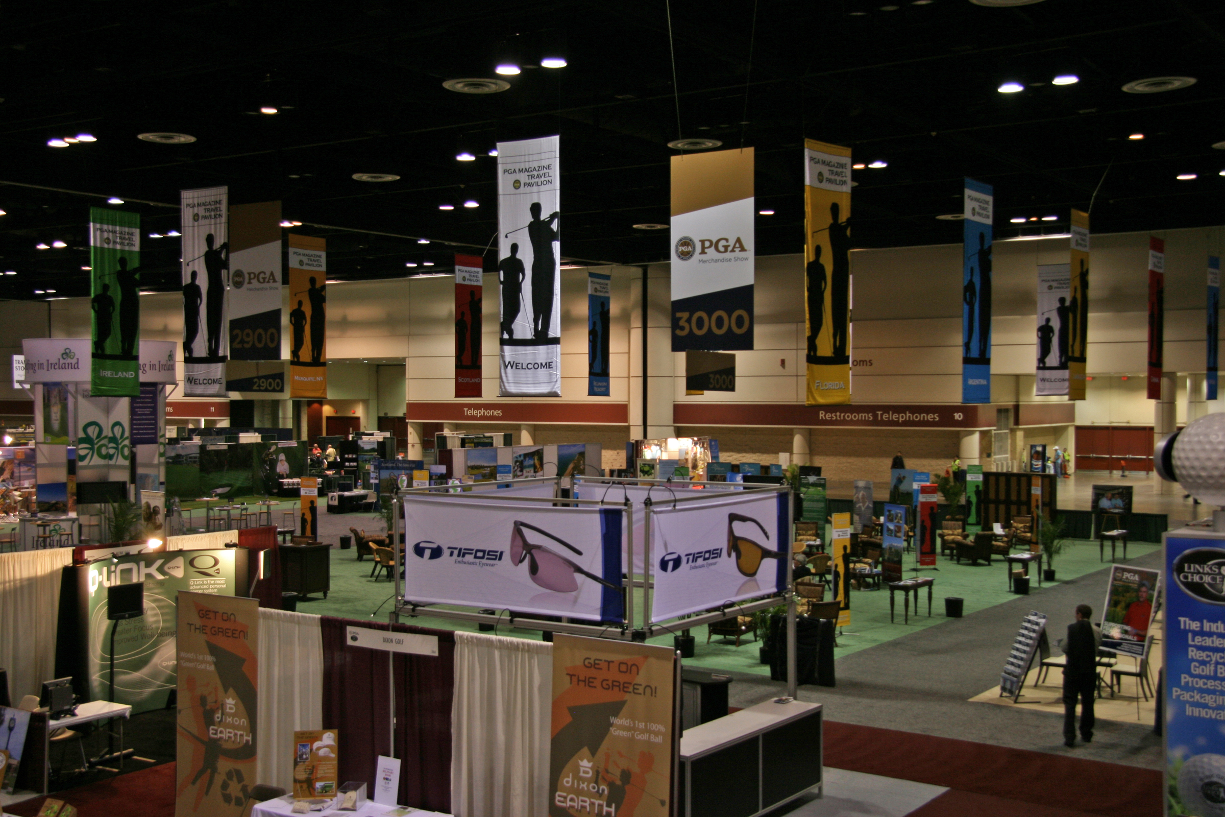Demo Day at the PGA Merchandise Show, 2009.