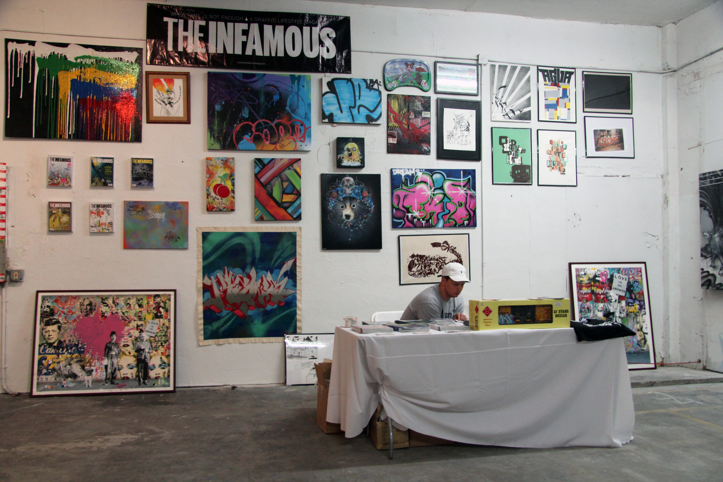Photo from Art Basel, Wynwood, Miami, 2011.