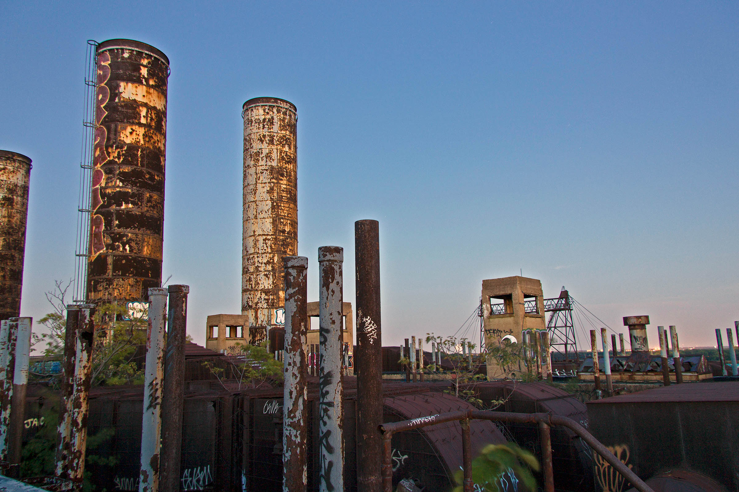 PECO Delaware Generating Station, Philadelphia, PA, USA, 2015.