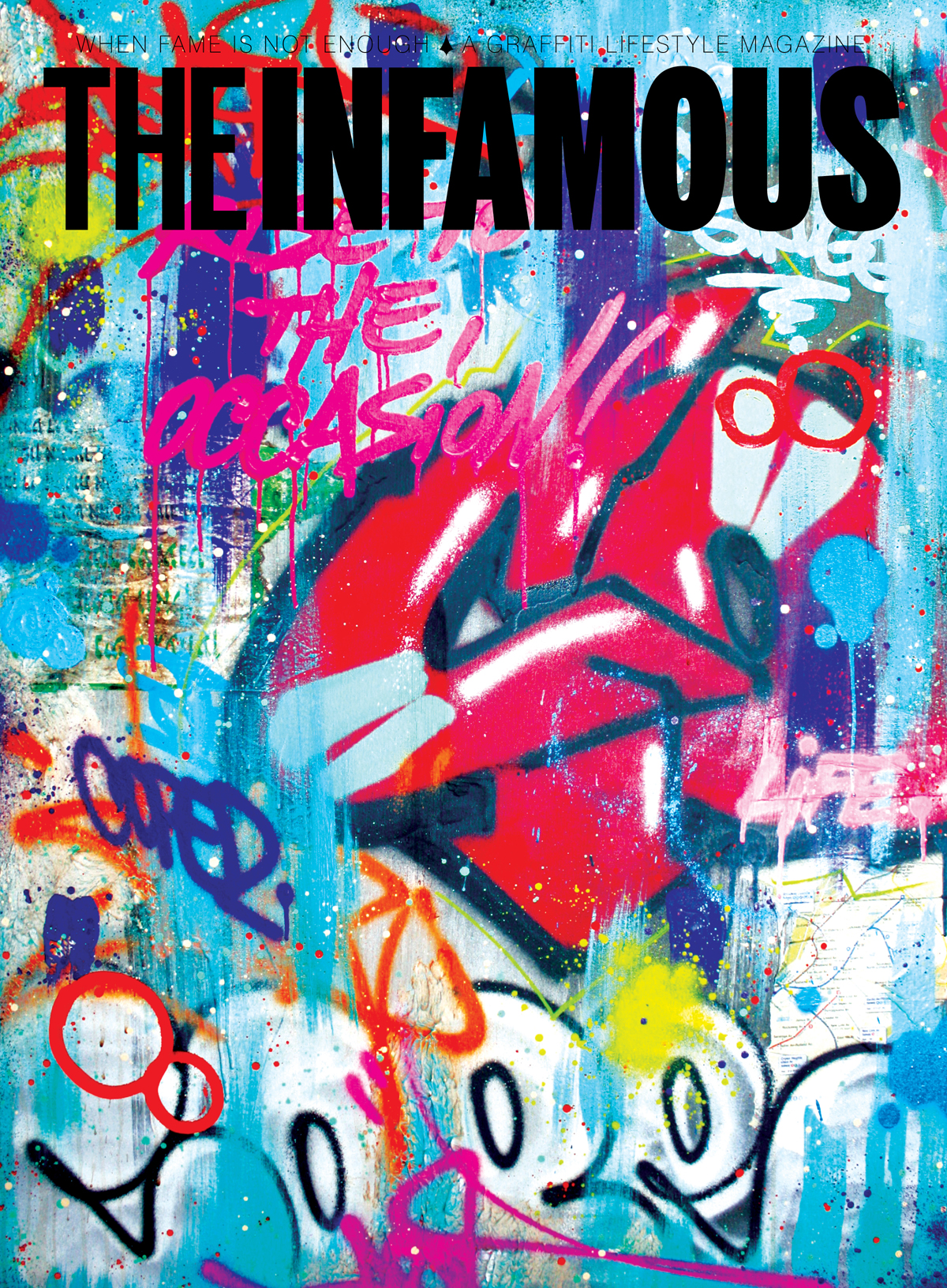 Cover of Issue 6 of The Infamous magazine, 2011. Illustration by Cope.