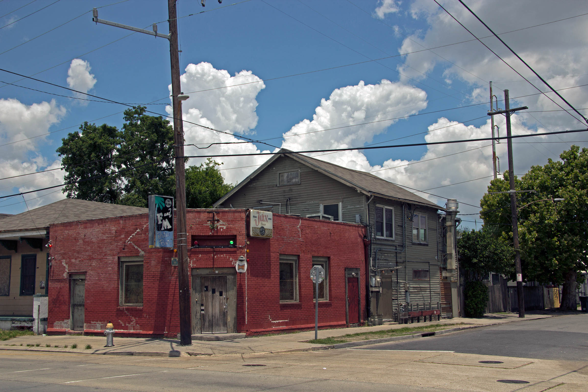 Street scene, Uptown, New Orleans, LA, USA, 2013.