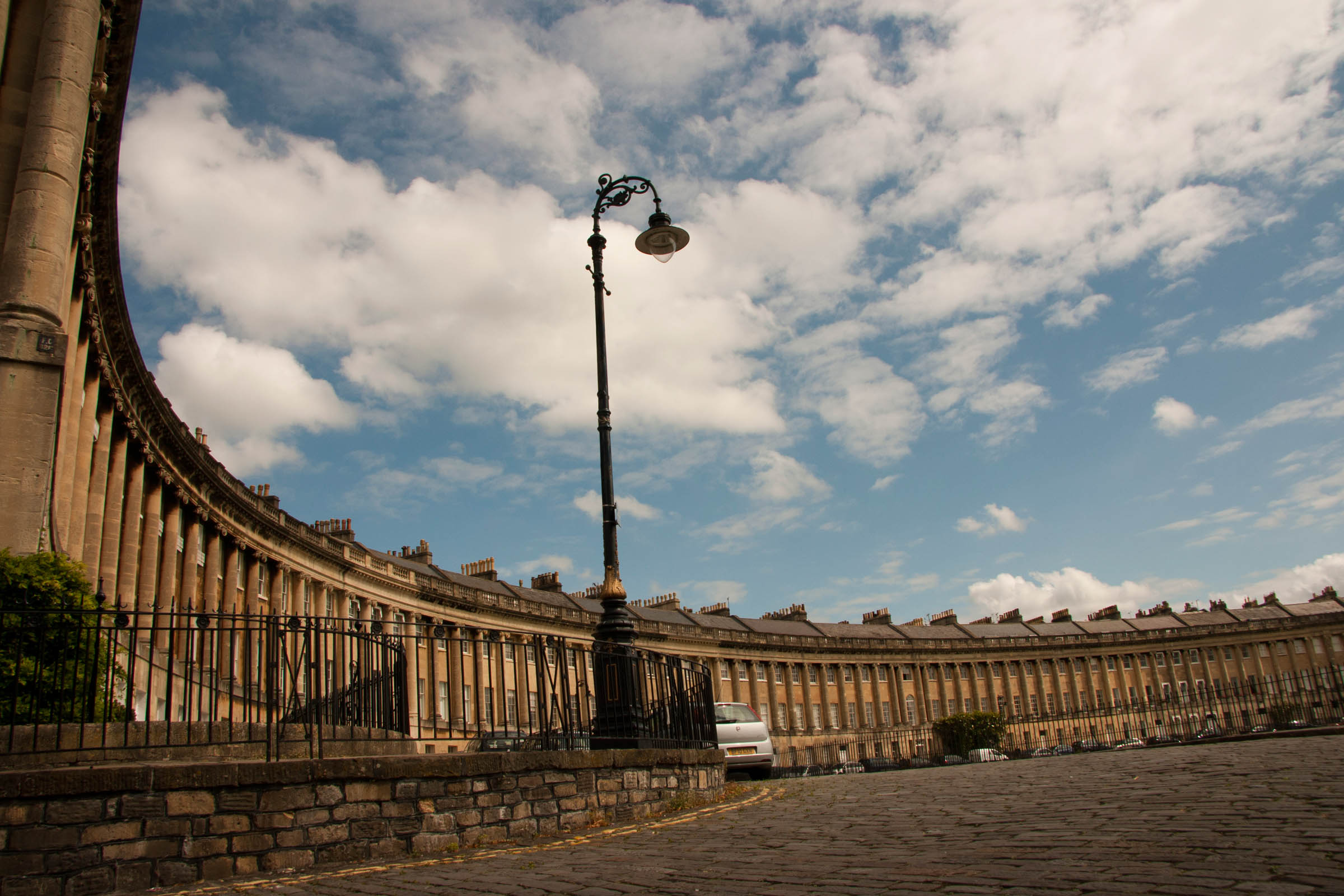 The Royal Crescent, Bath, UK, 2011.