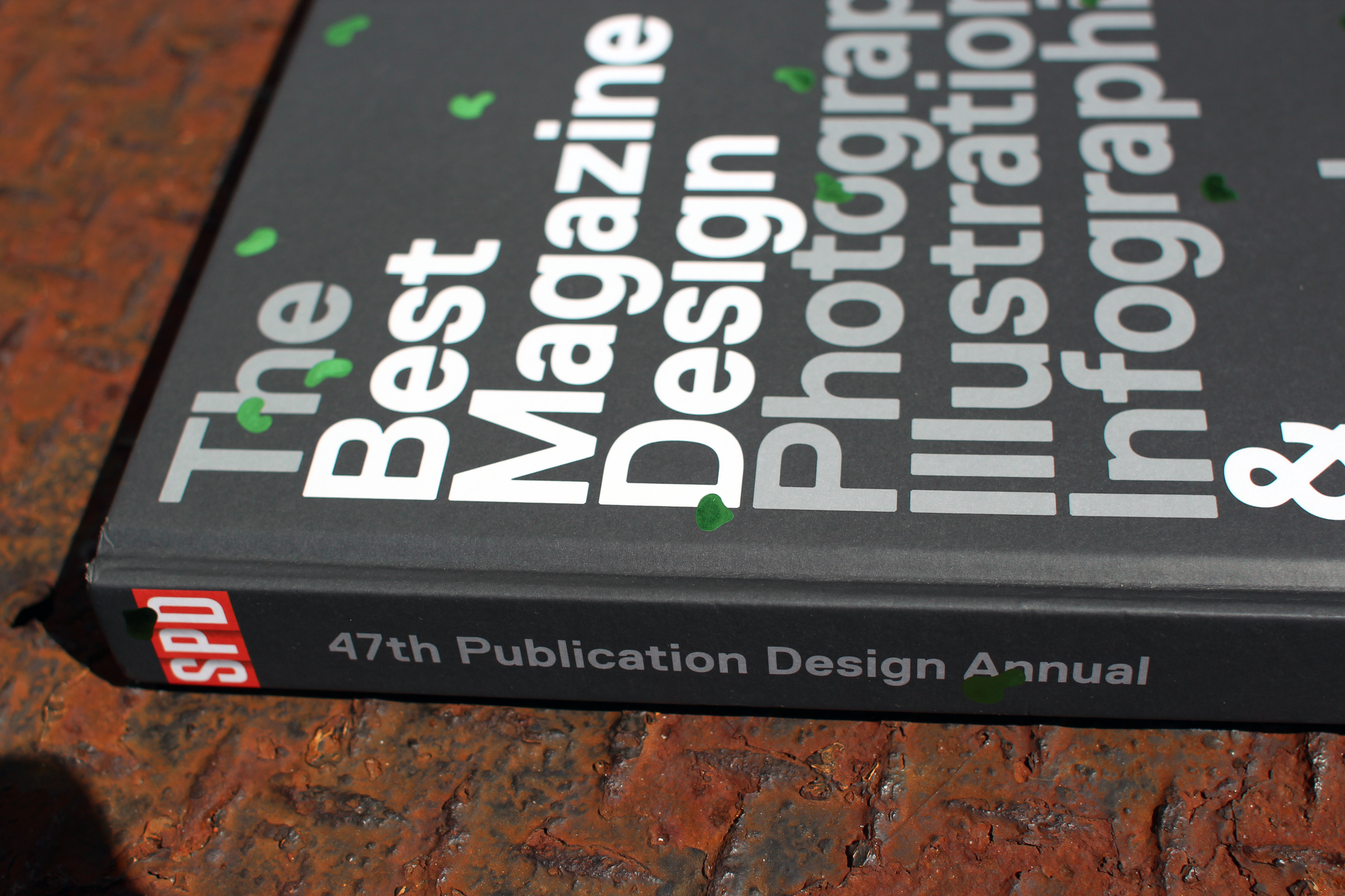 Photo of the cover of the Society of Publication Designer's 47th Annual.